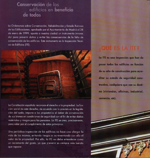 inspección técnica de edificios en la Comunidad de Madrid